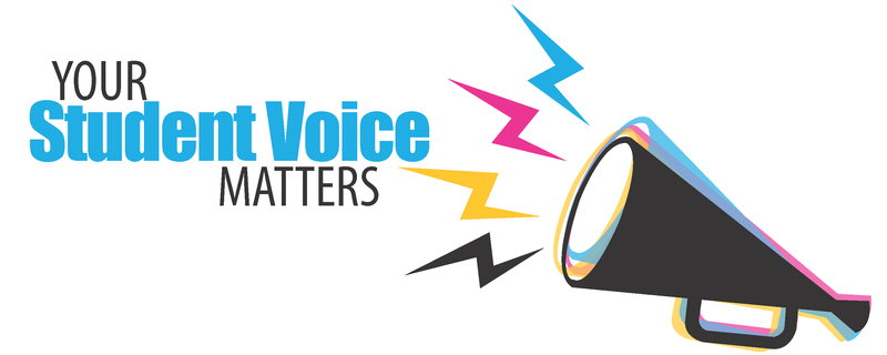 Your Student Voice Matters Banner