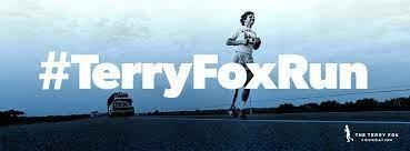 Terry Fox Run September 29th at 9:10am Featured Photo