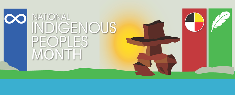 National Indigenous Peoples Month Banner