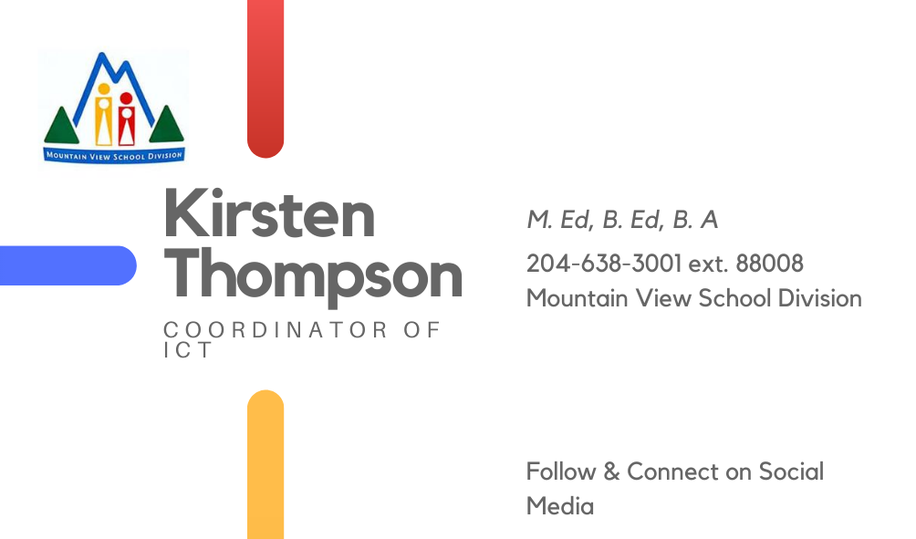 Kirsten Thompson contact information