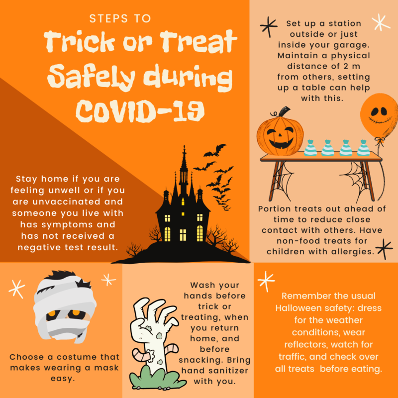 COVID-19 Halloween Tips Featured Photo