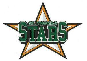 Monsignor Morrison Day with the St. Thomas Stars!