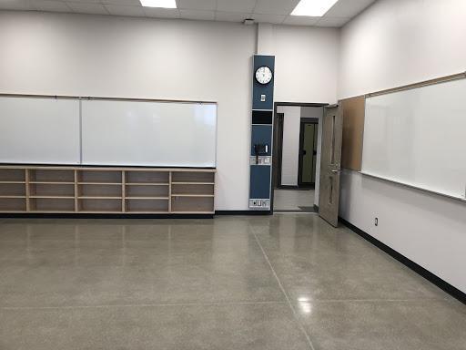 Photo of new Stratford Intermediate School classroom