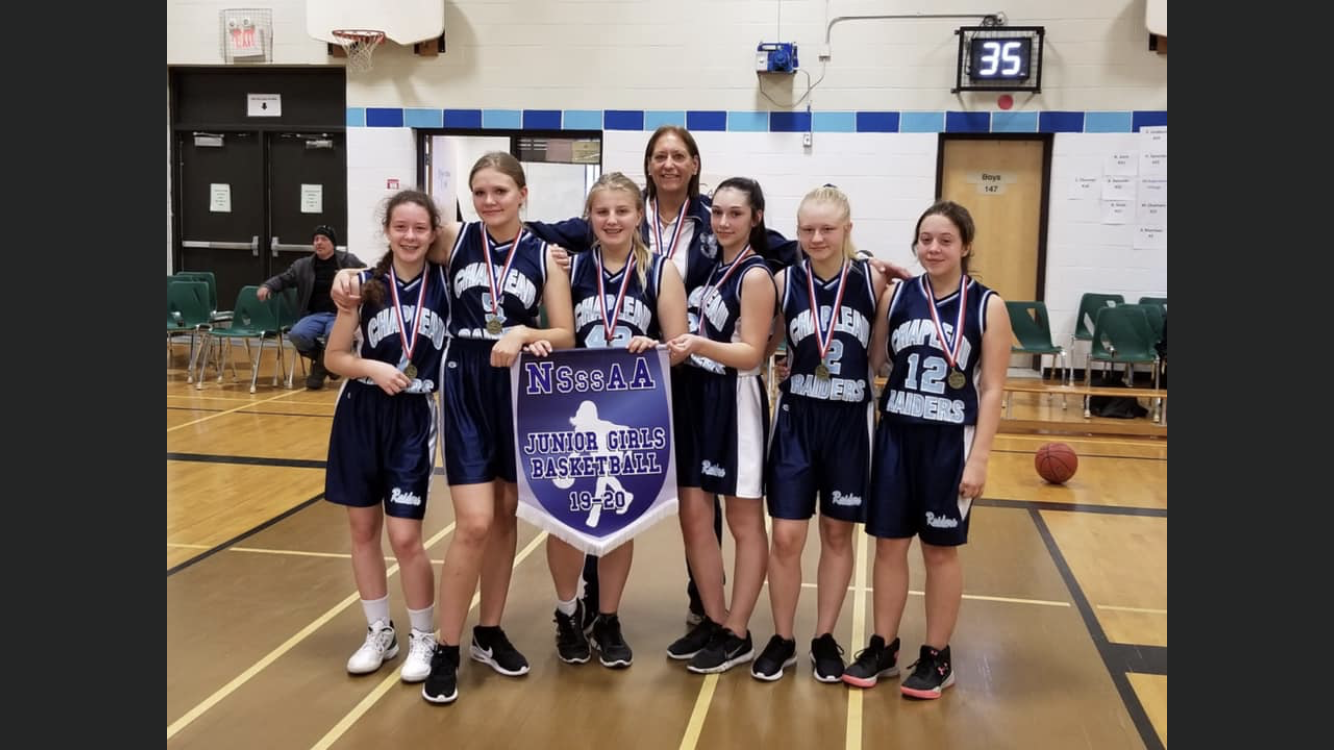 NSSAA Jr. Girls Basketball Champions 2019 - Chapleau Raiders