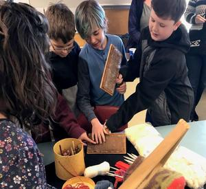 Comox Museum brings Valley students a history lesson in clothing Featured Photo