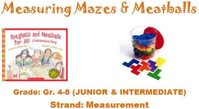 Measuring Mazes and Meatballs Kit