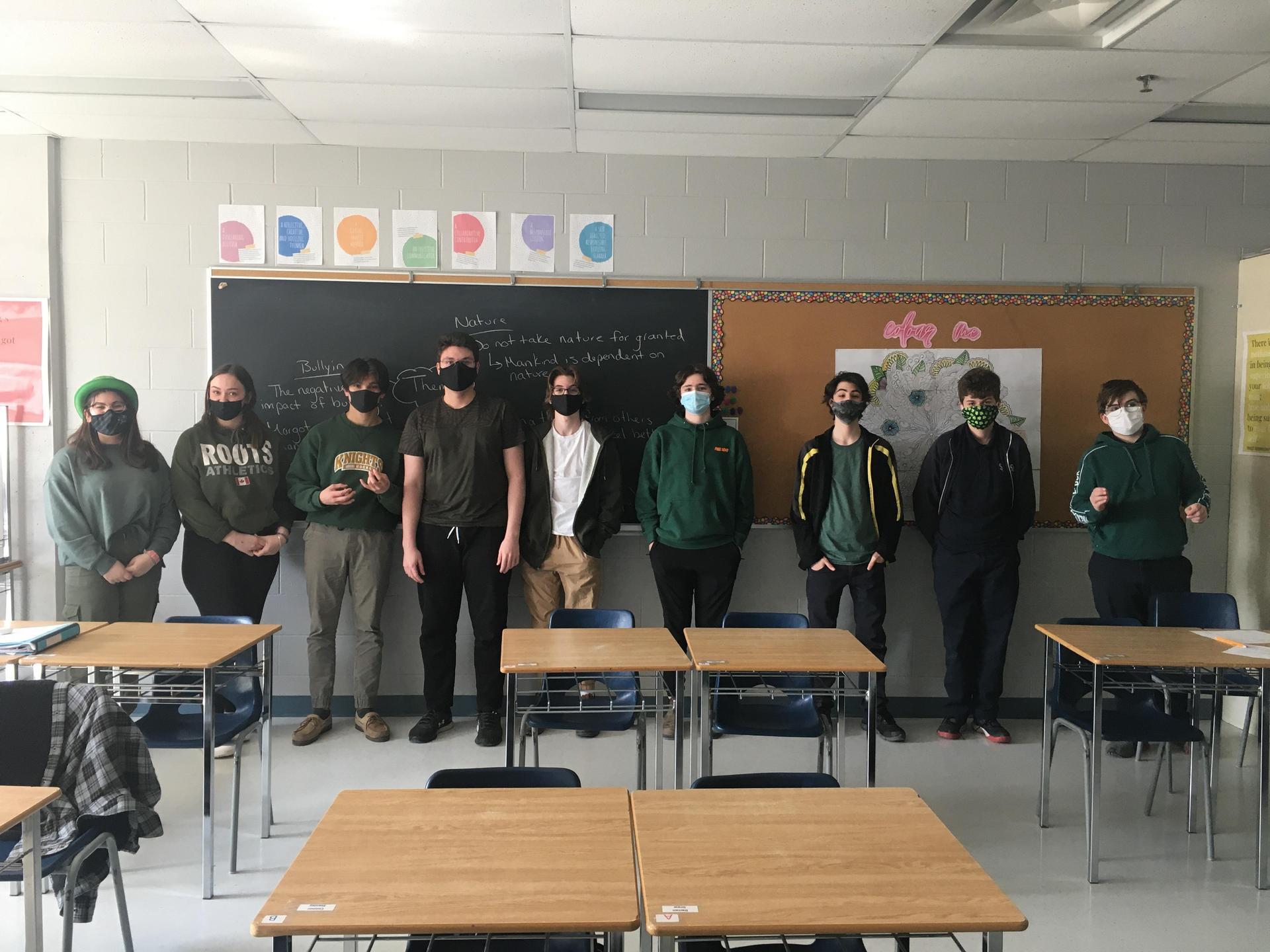 green day class A