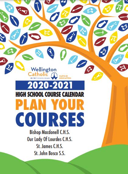 2020/21 Course Calendar