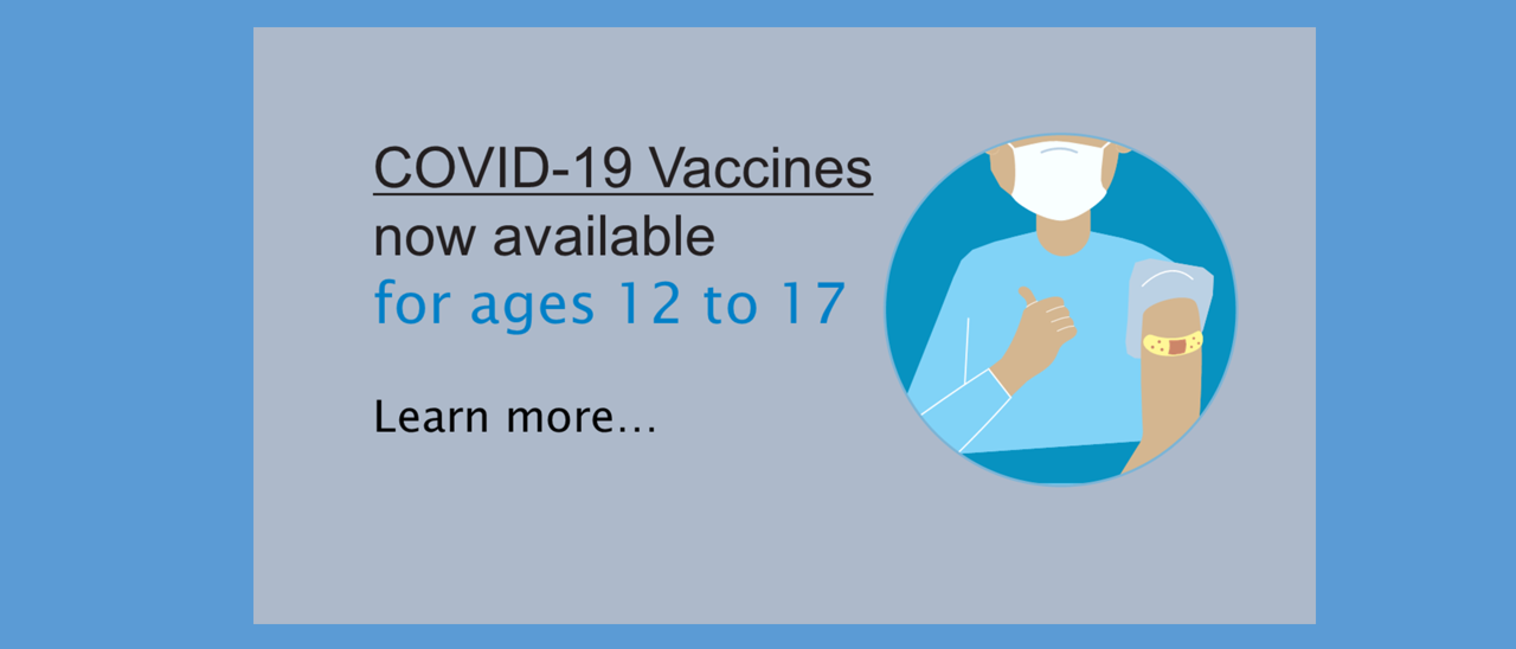 vaccines for ages 12 to 17