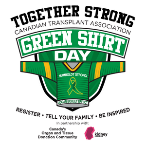 "Green Shirt Day – Honouring the ""Logan Boulet Effect"" on organ donor awareness and registration Featured Photo"
