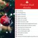 list of Christmas break activities