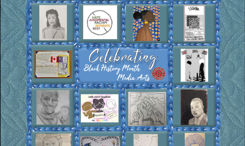 Celebrating Black History Digital Quilt Featured Photo