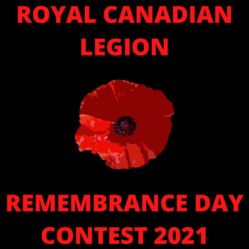 Royal Canadian Legion 2021 Remembrance Day Contest Featured Photo