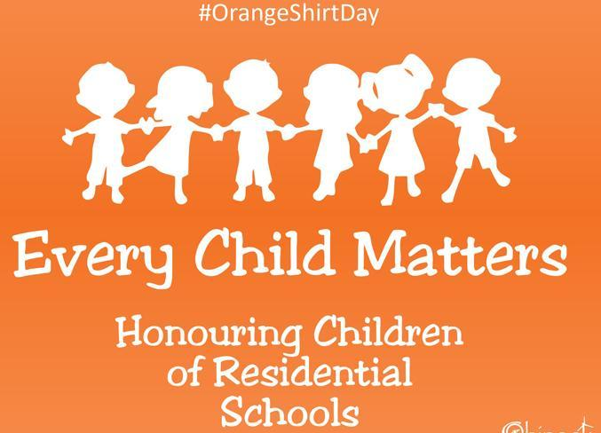 Orange Shirt Day - Wednesday September 30th Featured Photo
