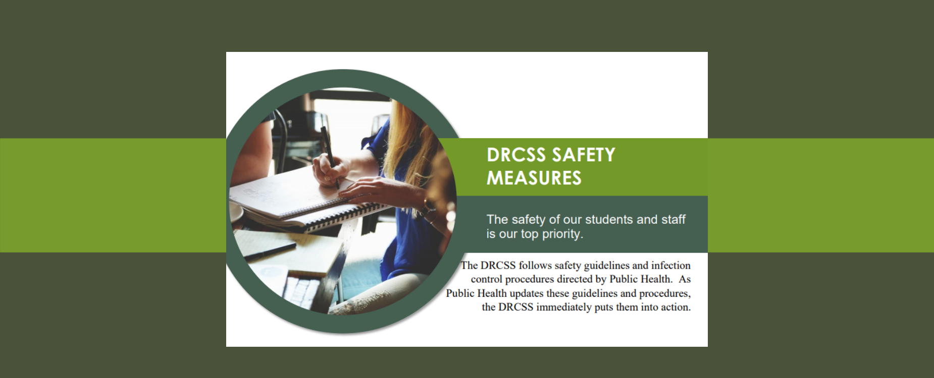 DRCSS Safety Measures