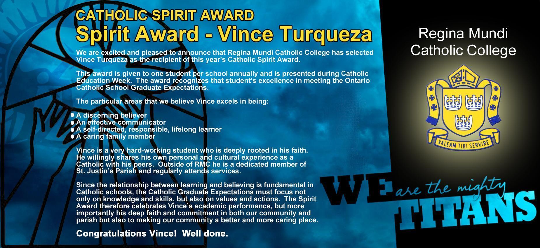 Catholic Spirit Award