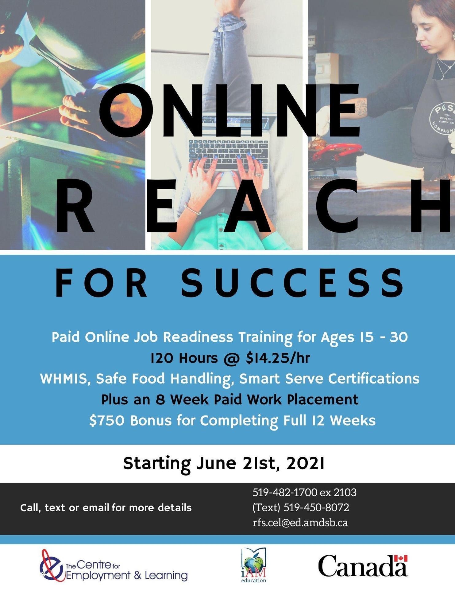 Next Cohort Starts June 21st, 2021