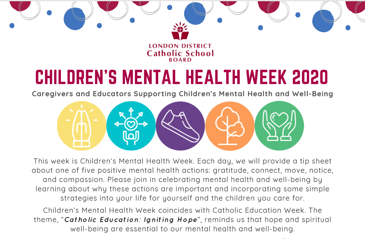 Children's Mental Health Week Short Introduction