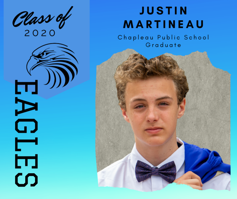 CPS Featured Grad: Justin Martineau Class of 2020 Valedictorian Featured Photo