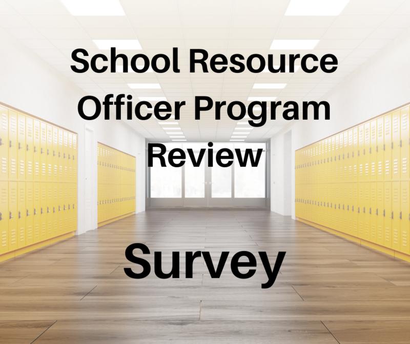 School Resource Officer Program Review