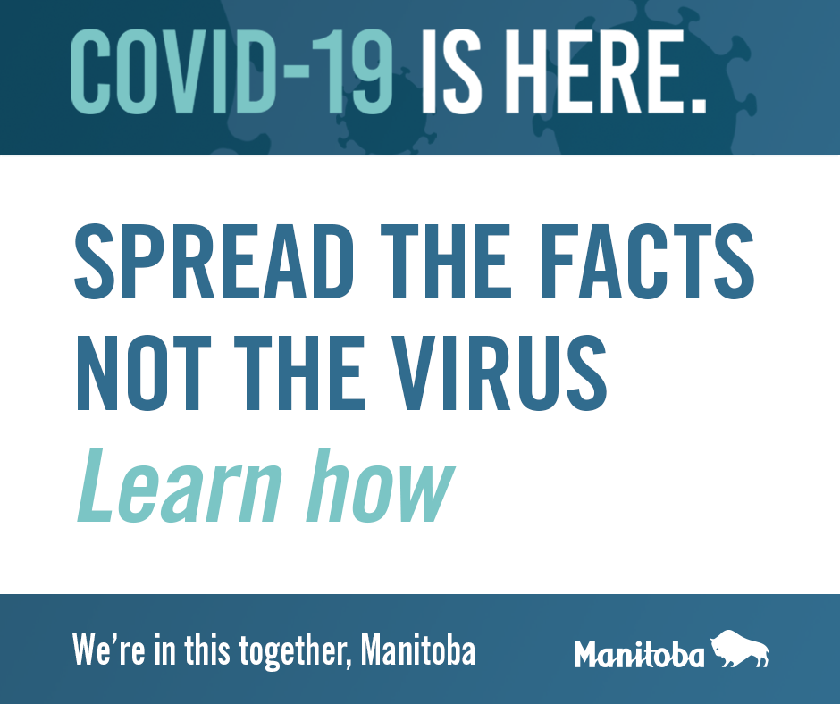 Spread the Facts Not the Virus!