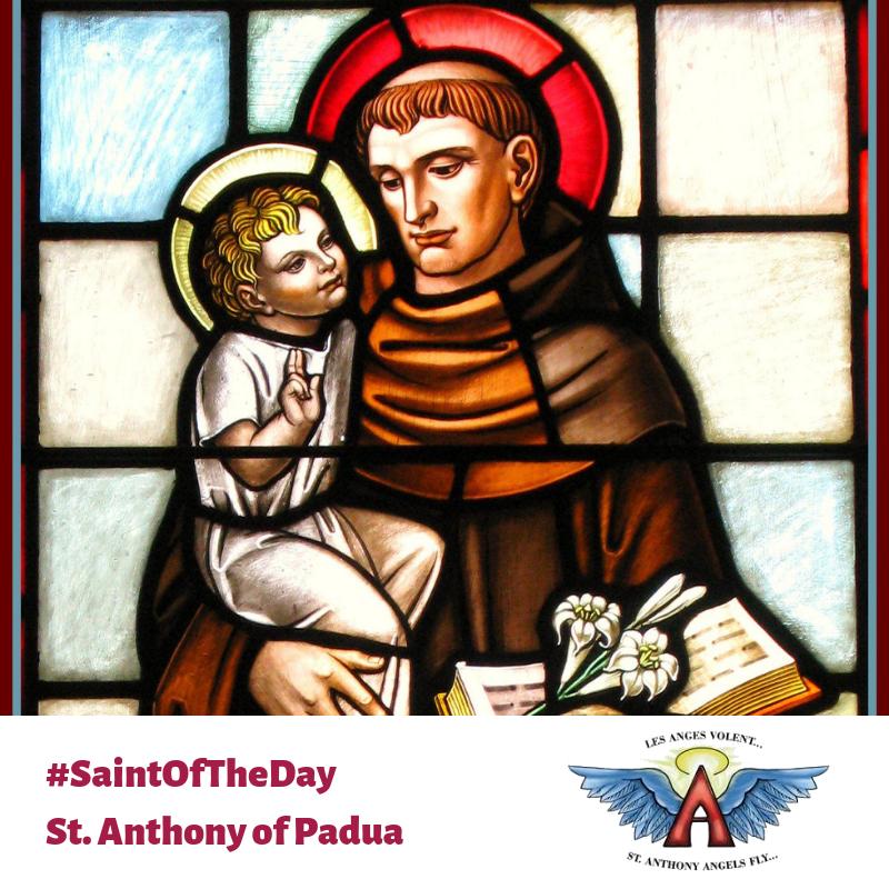 St. Anthony of Padua!