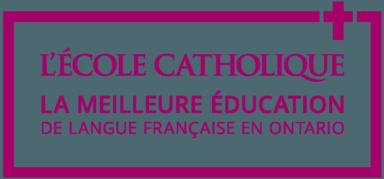L'école catholique - La meilleure éducation de langue française en Ontario