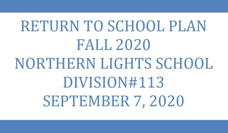 Return to School Plan - UPDATE September 7, 2020 Featured Photo