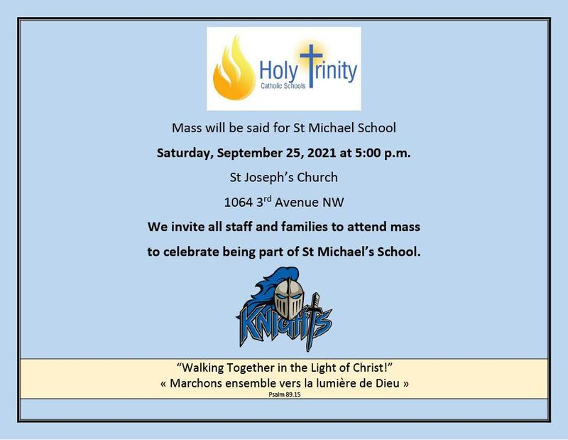 Mass for St. Michael School Featured Photo