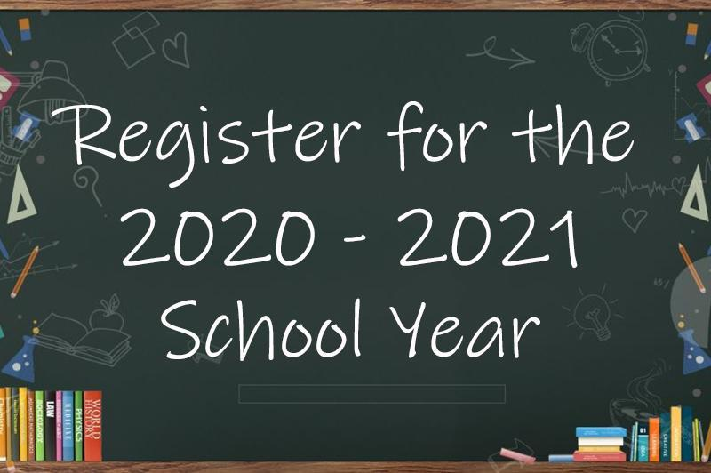 Register your child for school Featured Photo