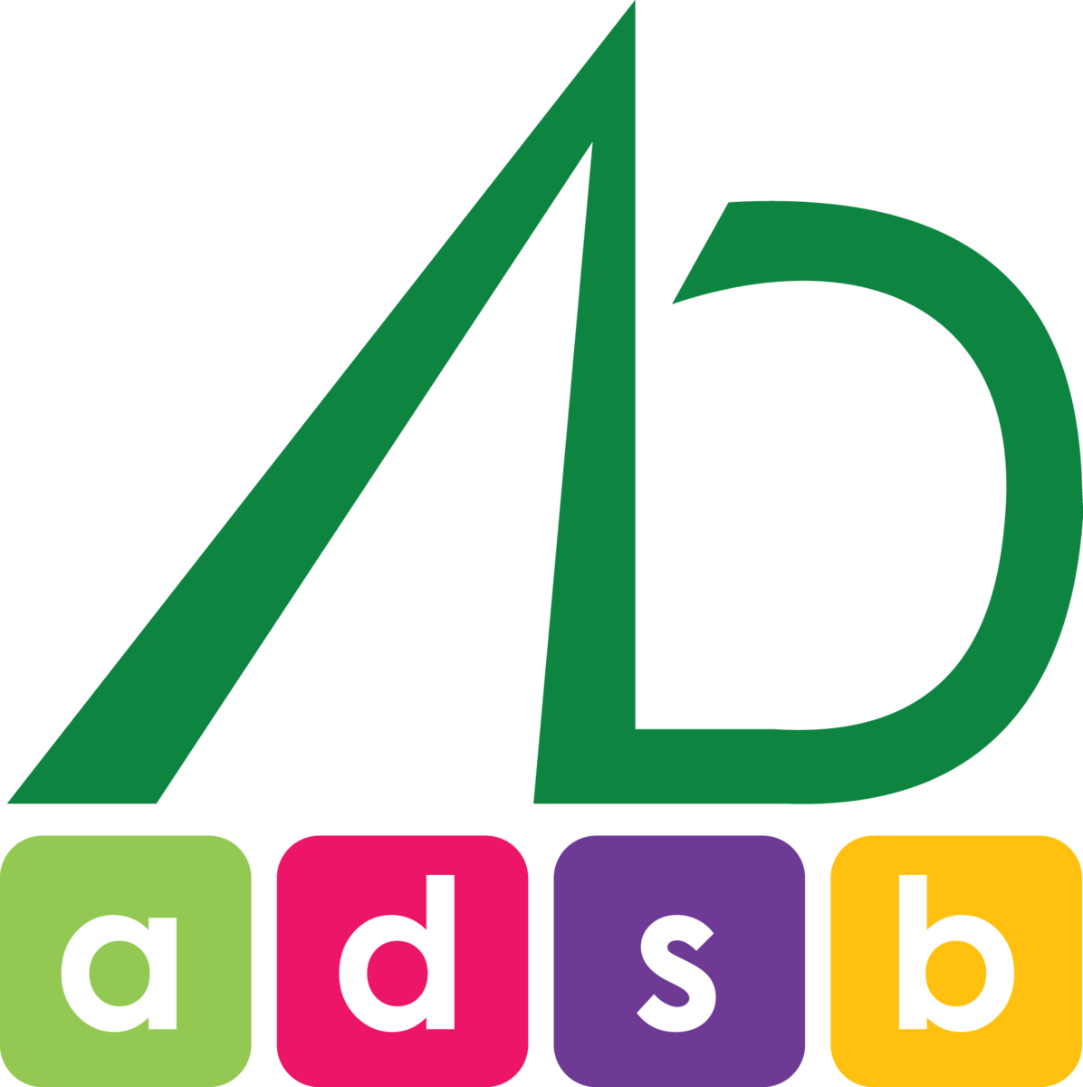 ADSB blocks logo