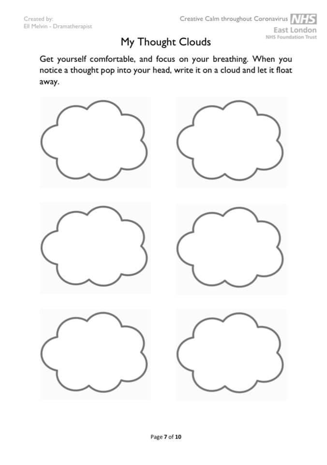 my thought clouds