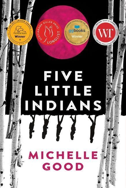 Five Little Indians Book Cover