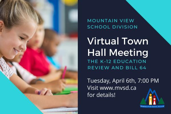 MVSD Virtual Town Hall Meeting
