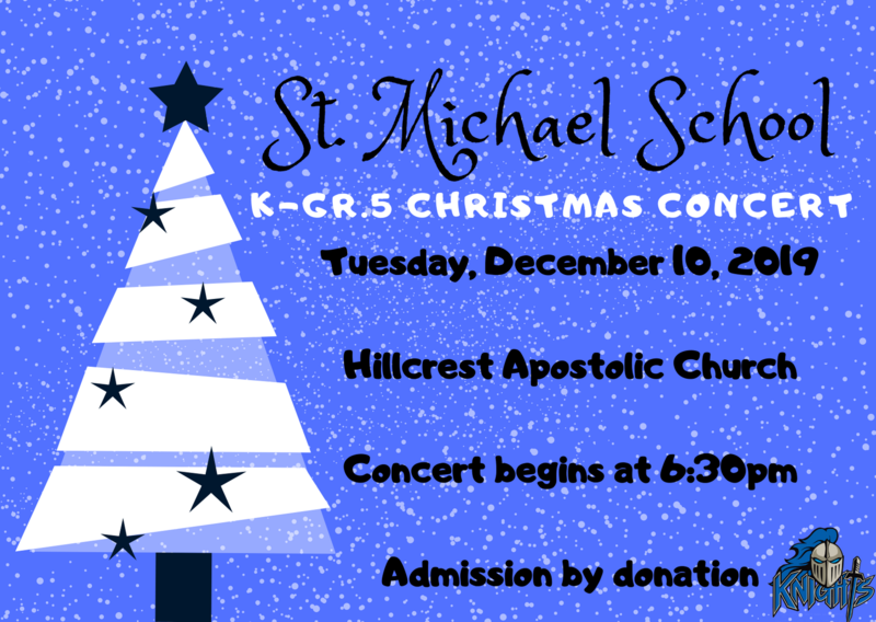K-Gr. 5 Christmas Concert Featured Photo
