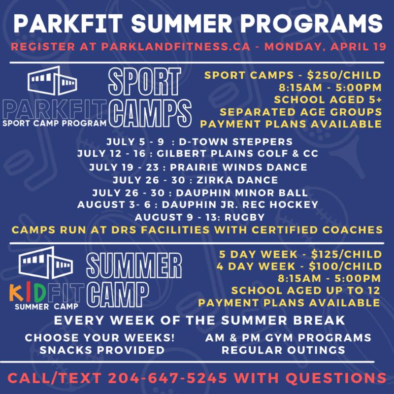 Parkfit Summer Programs