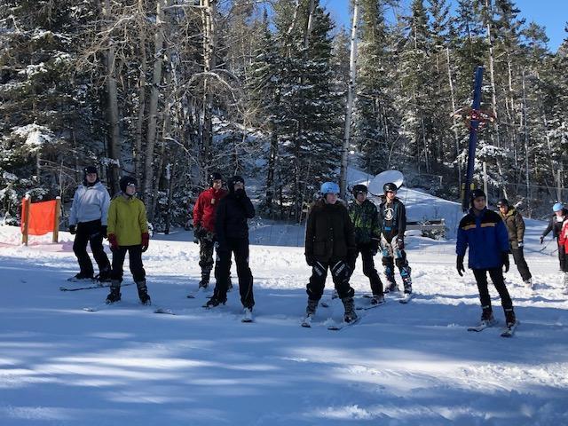 ski lesson 1