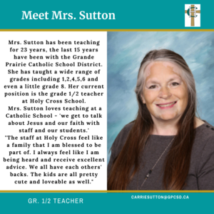 Holy Cross: Carrie Sutton Featured Photo