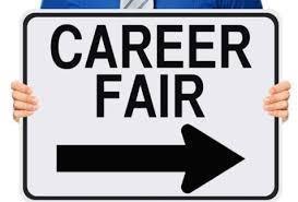 Career Fair sign