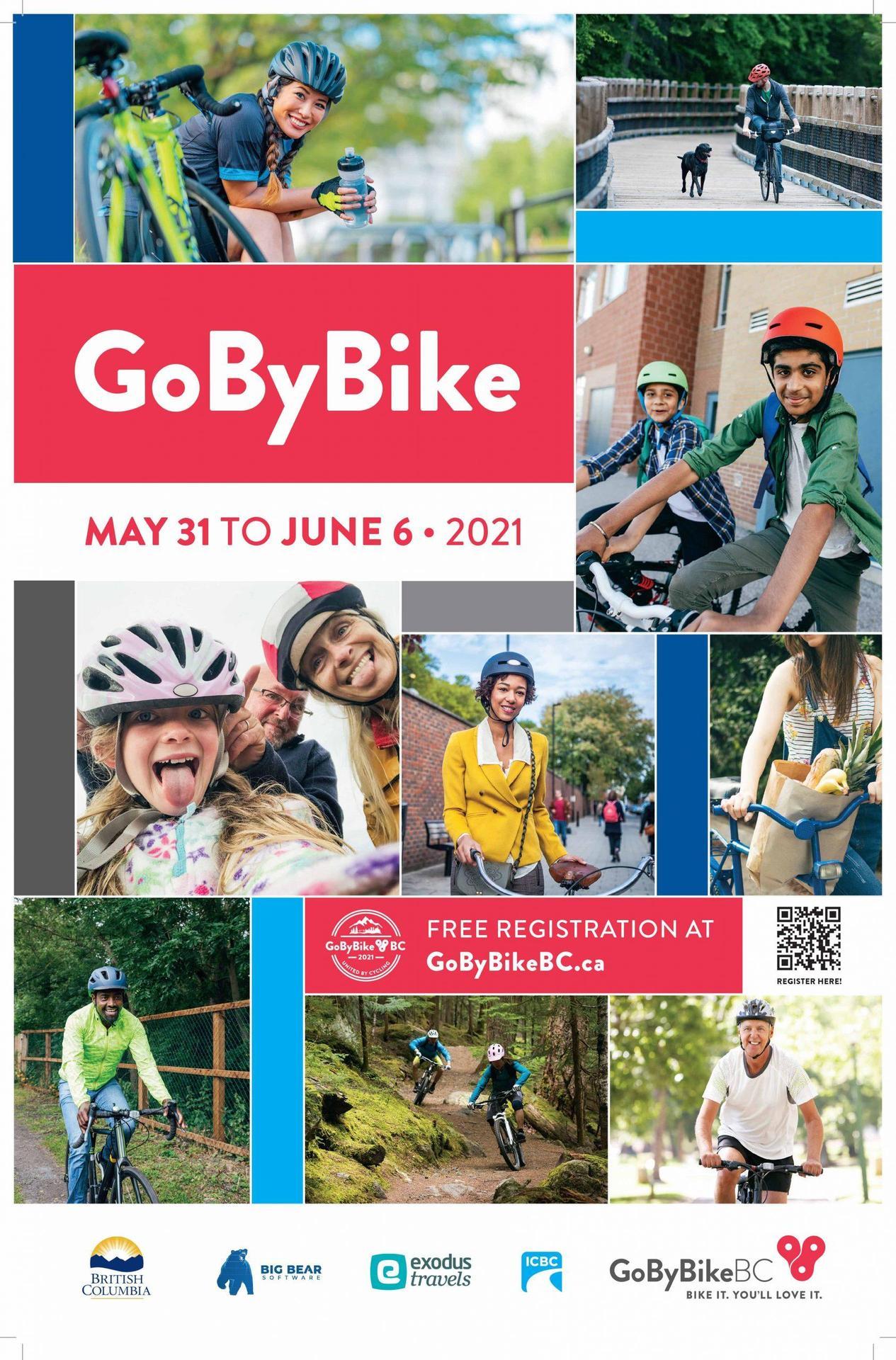 Go by Bike week poster