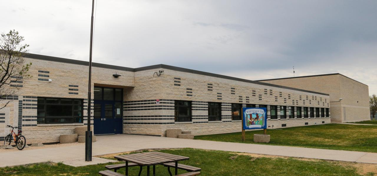 Front entrance of the school.