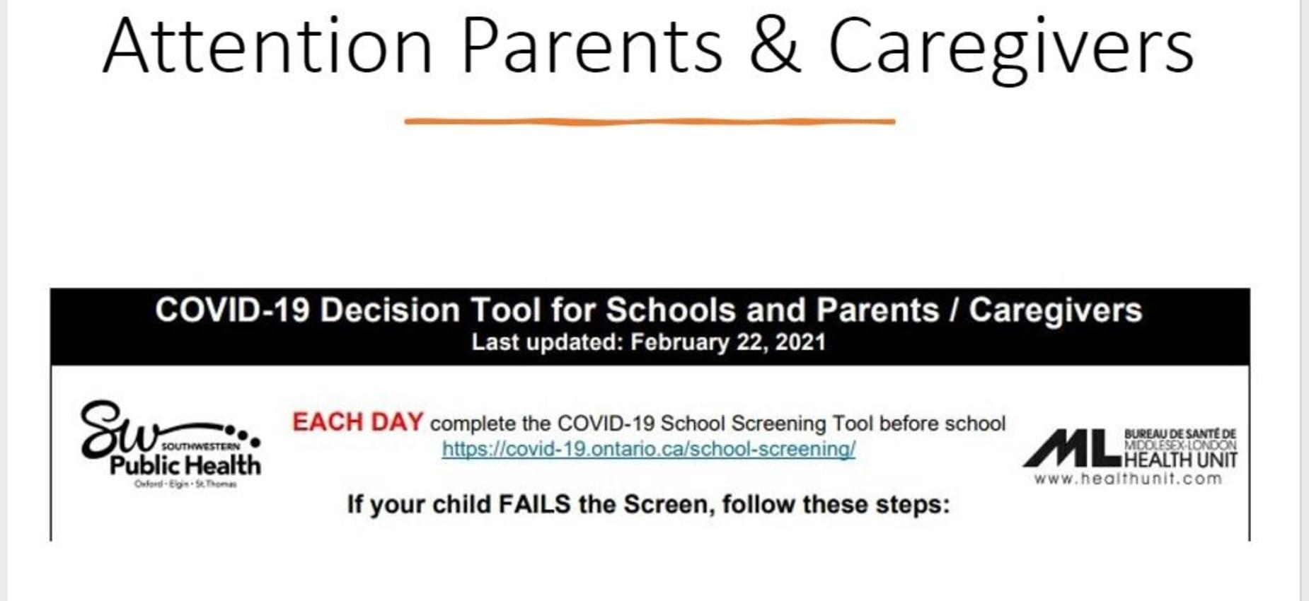 covid 19 decision tool for schools