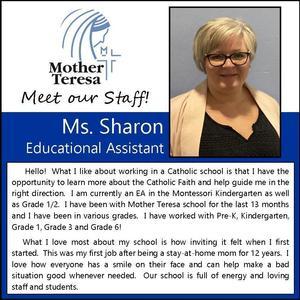 Mother Teresa: Sharon Shepherd Featured Photo