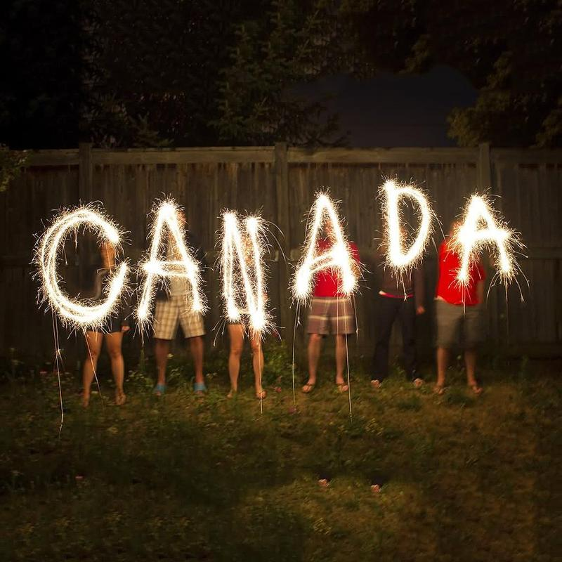 Canada Day sparklers