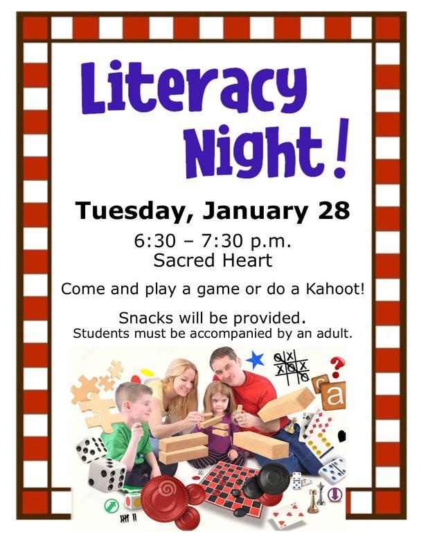 Literacy Night! Featured Photo