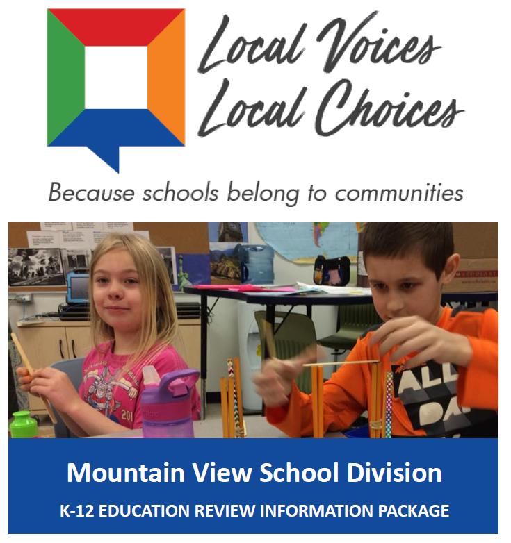MVSD Local Choices Local Voices