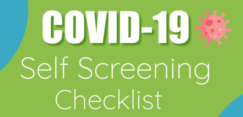 COVID School Screening Info