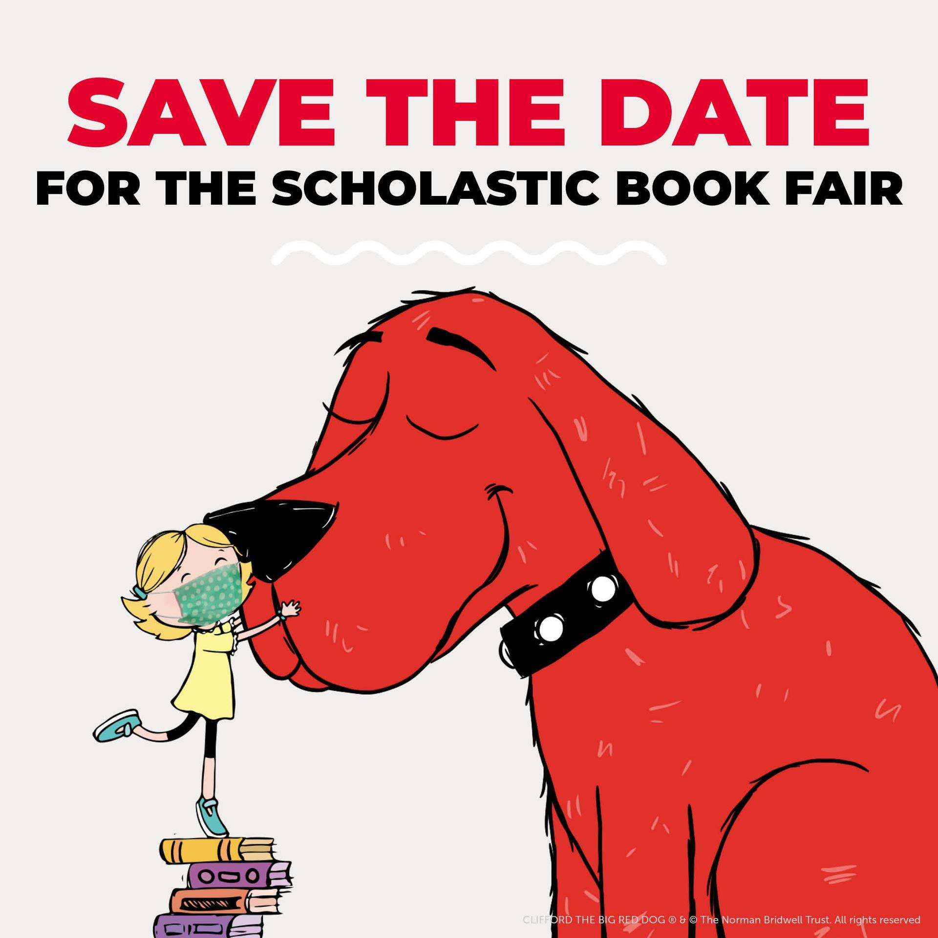 Clifford the Dog Save the Date