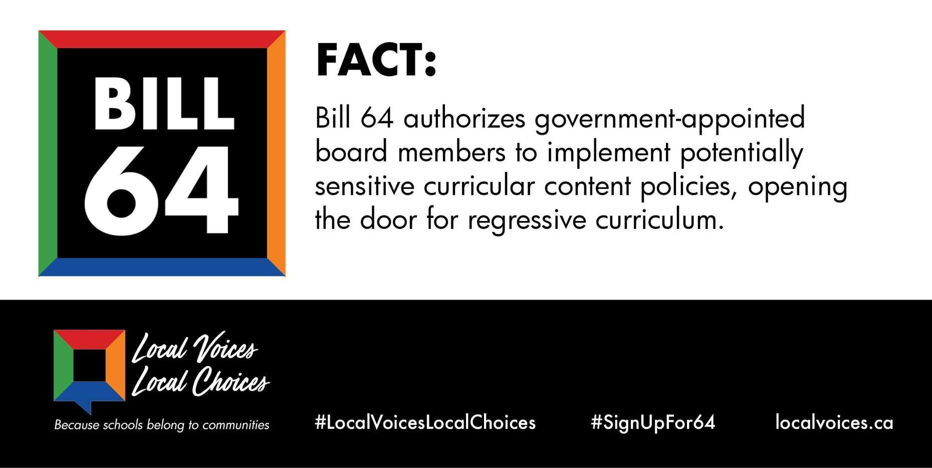 MSBA Bill 64 Fact