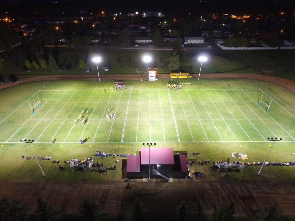 Macklin Sabres Football Under the Lights
